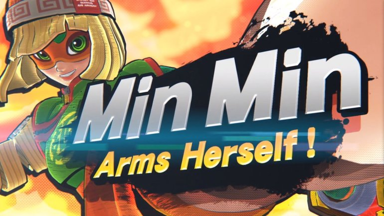 Super Smash Bros. Ultimate adds Min Min from Arms