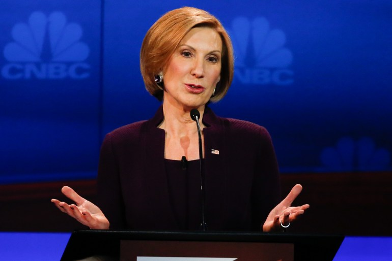 Carly Fiorina, American Businesswoman