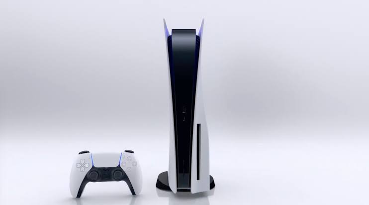 The PlayStation 5 console