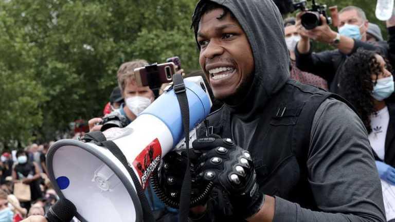 John Boyega Gets Backing From His 'Star Wars' Family After Black Lives Matter Protest
