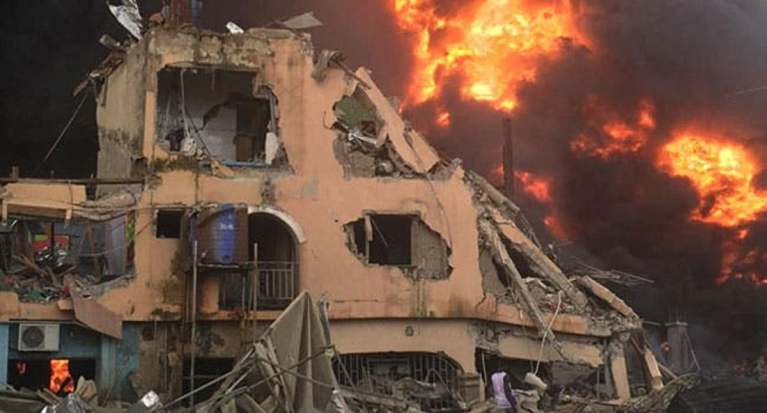 One Killed In Lagos Gas Explosion