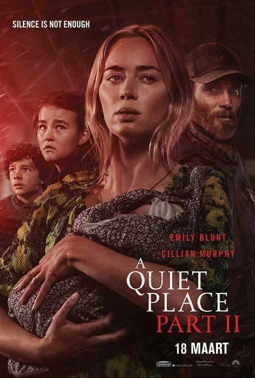 A Quiet Place 2 movie poster