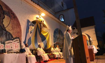 Misa en la fiesta patronal – Pquia. Nuestra Señora de Lourdes de Río Tercero