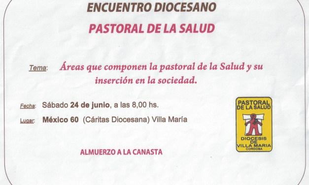 Encuentro Diocesano de Pastoral de la Salud