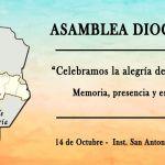 Invitación del Pbro. Alberto Bustamante a la Asamblea Diocesana de Pastoral