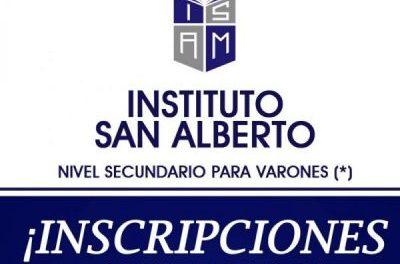 Inscripciones abiertas – Instituto San Alberto