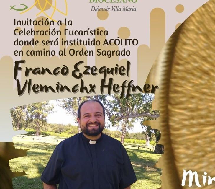 Acolitado Franco Vleminchx