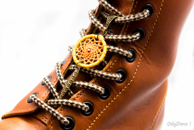 bijou de chaussures bélière dreamcatcher