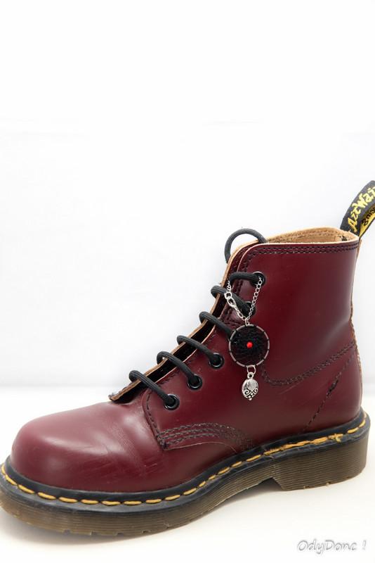 bijou de chaussures 2 en 1 rock