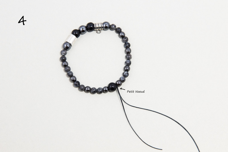 bracelet perles naturelles homme