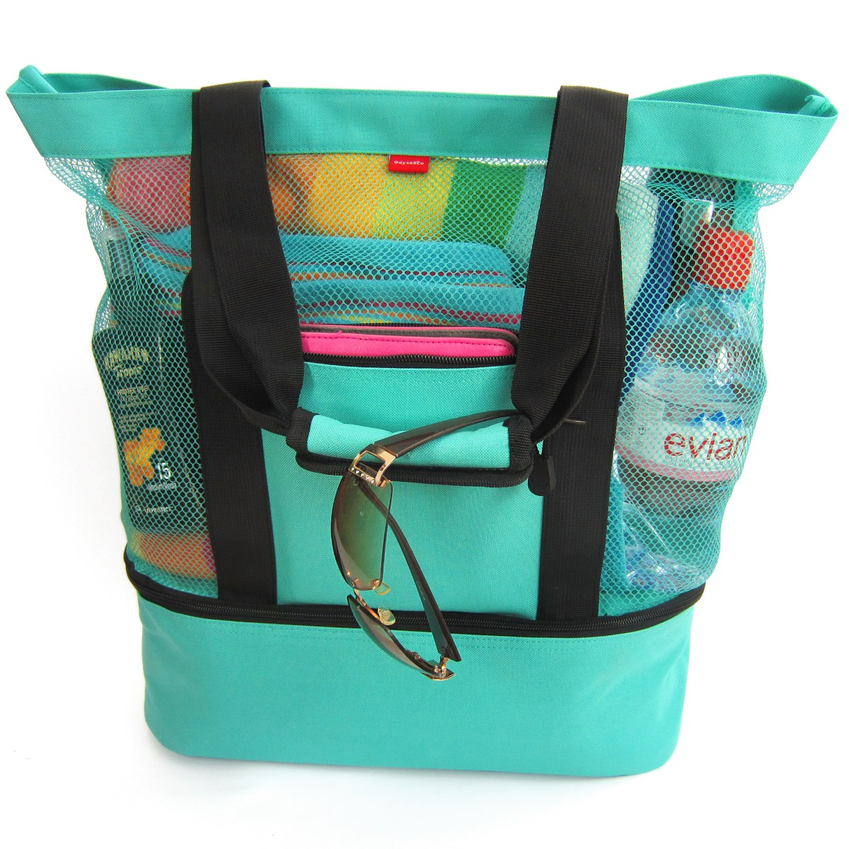 odyseaco mesh beach bag cooler