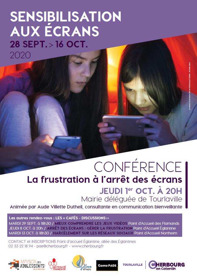 """Café-discussion 29/09/20 """"Mieux comprendre les jeux vidéo"""" au point d'accueil des Flamands à Tourlaville"""