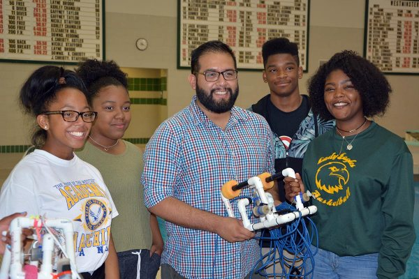 High School Robotics Staff