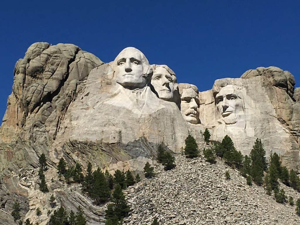 Hacking Mount Rushmore With Or Without Kids