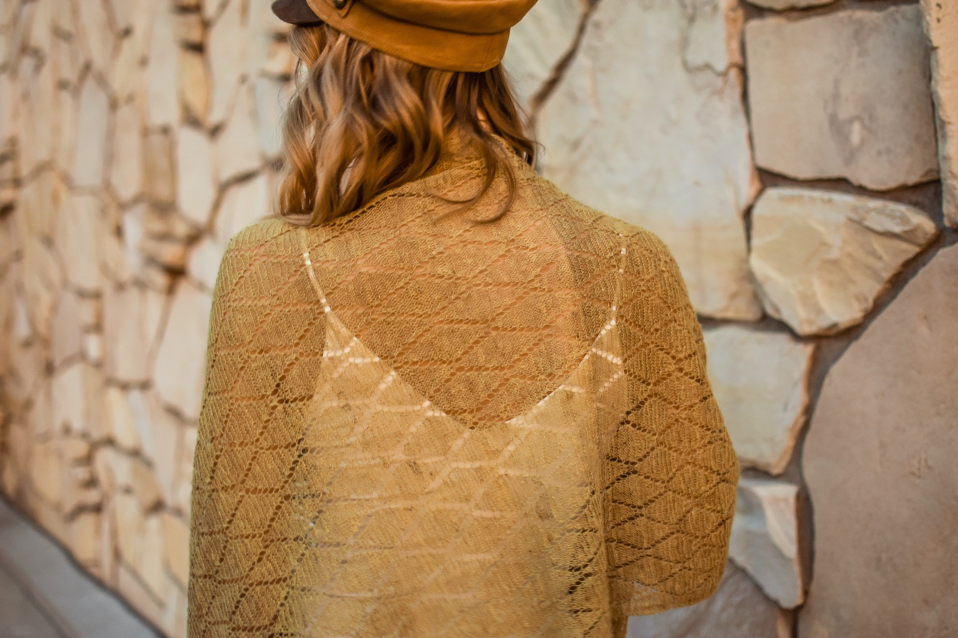 Seam Siren Nettle Shawl with Odyssey Designs