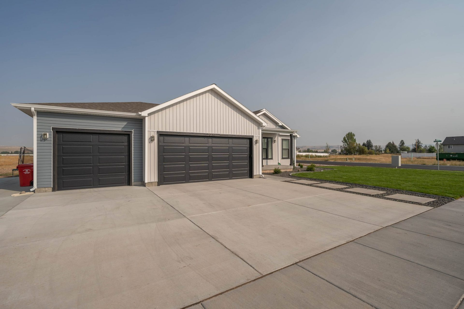 Exterior of the Ashwood in The Avenues Idaho Falls new homes