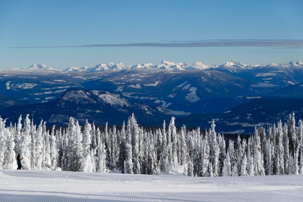 from top of Silver Star