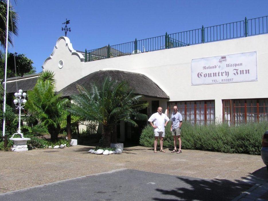 our b & b at Stellenbosch