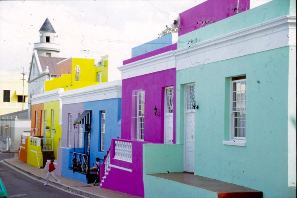 the colourful Malay 'hood in Cape Town