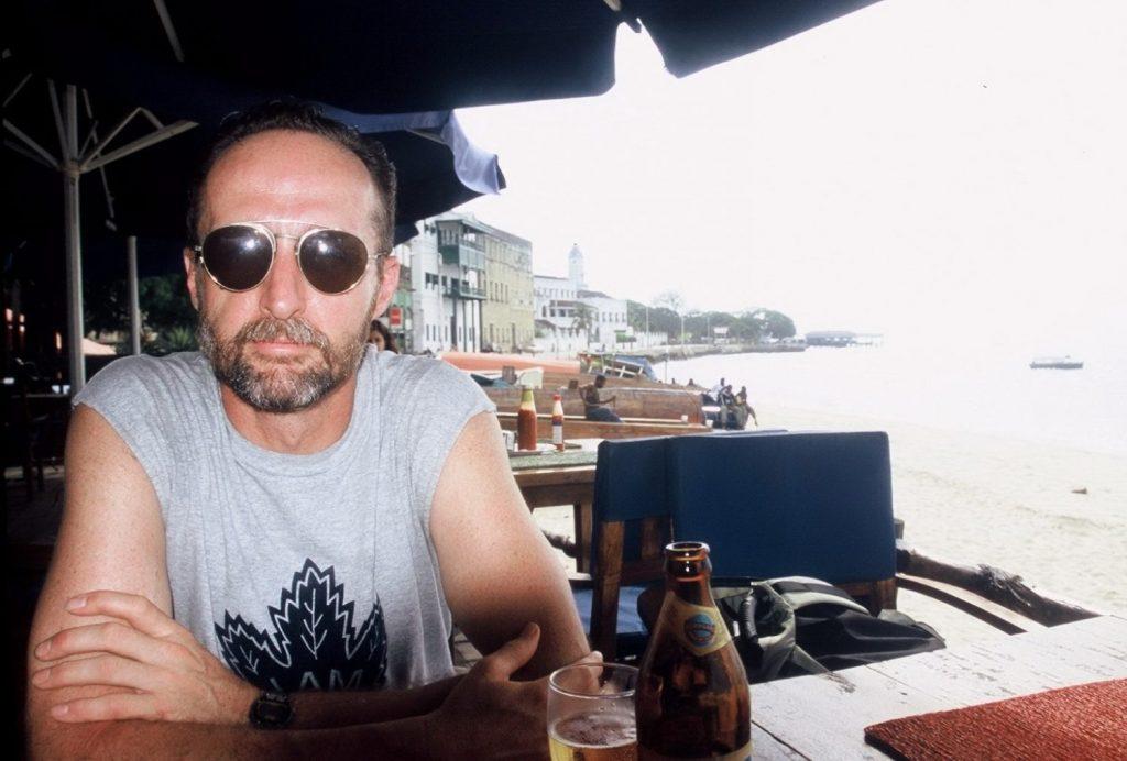 drinking at Freddy Mercury's bar