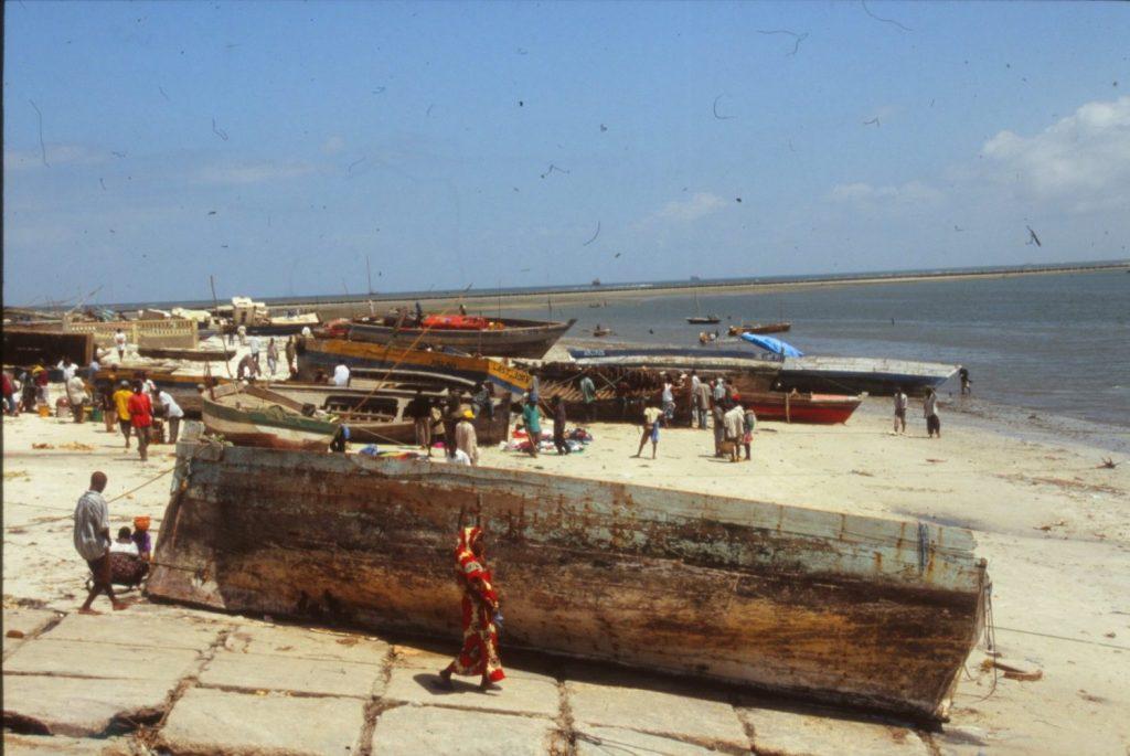 Dar es Salaam waterfront