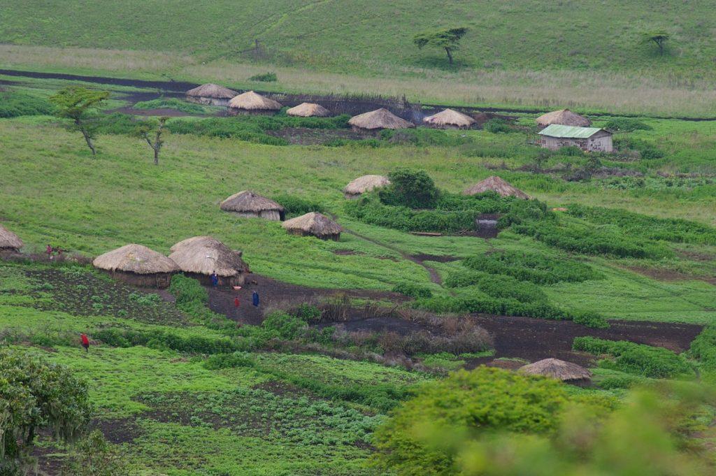 Masai village