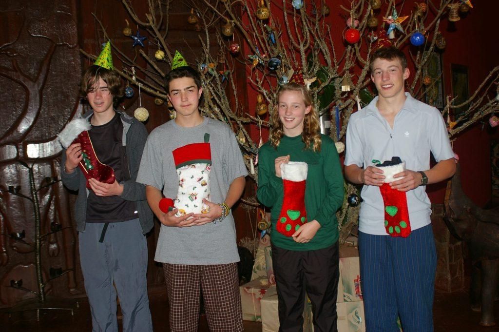 Tommy, Kyle, Mackenzie & Quintan