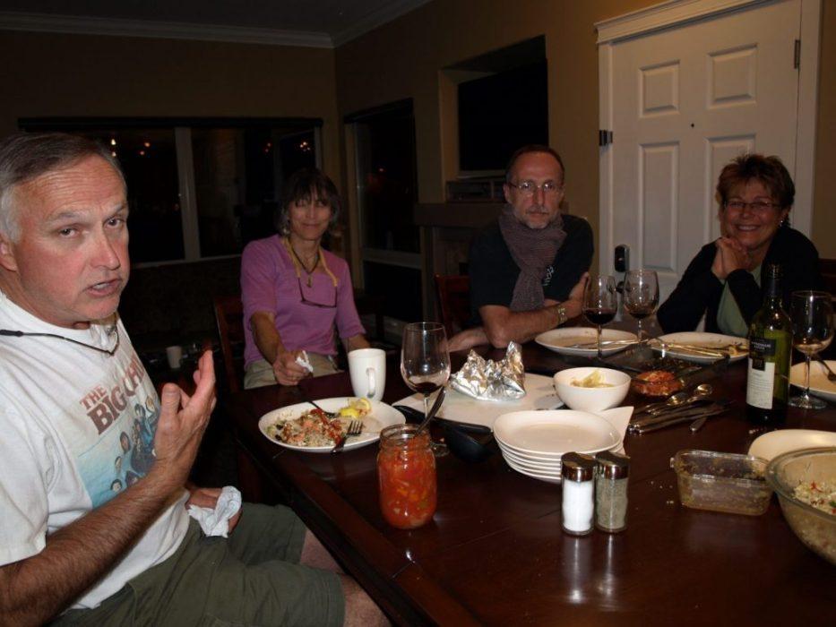 dinner debate