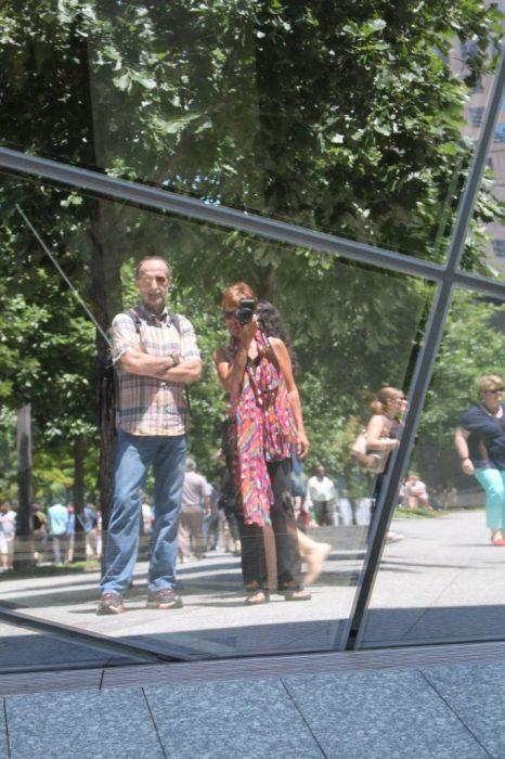 WTC monument selfie