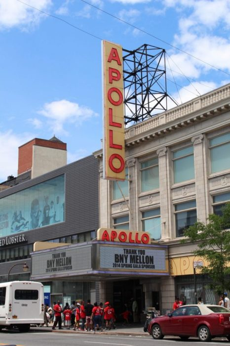 the famed Apollo theatre