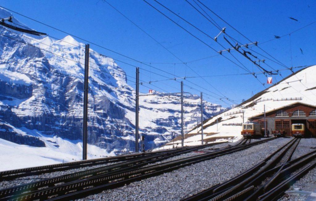 train up the Jungfrau