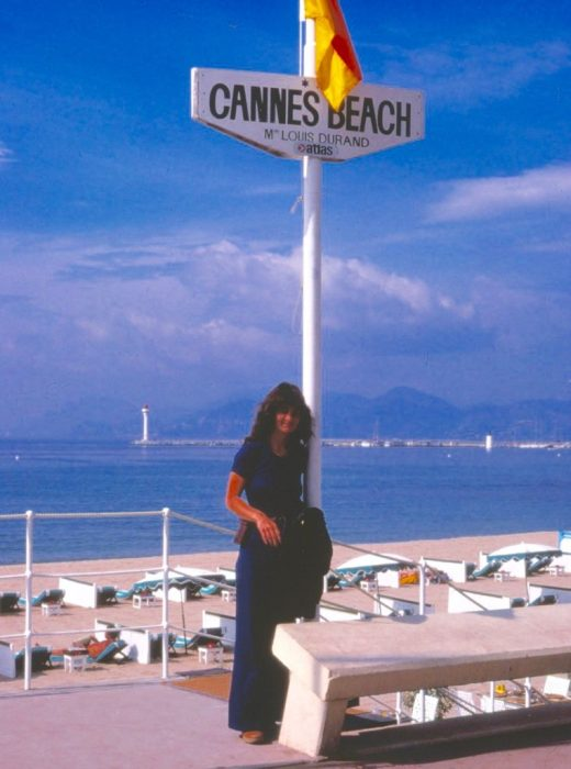 beachside at Cannes
