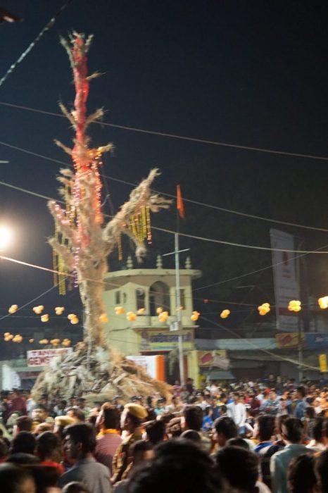 the big effigy