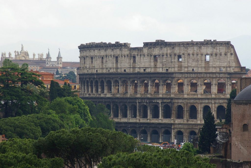 the famed coliseum