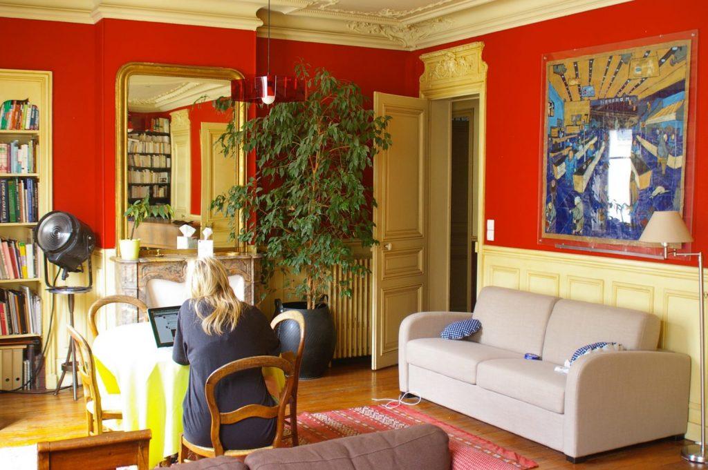 Paris air b&b apartment