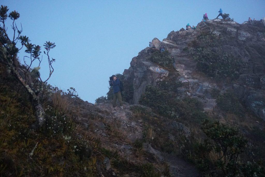 the top of Volcan Baru