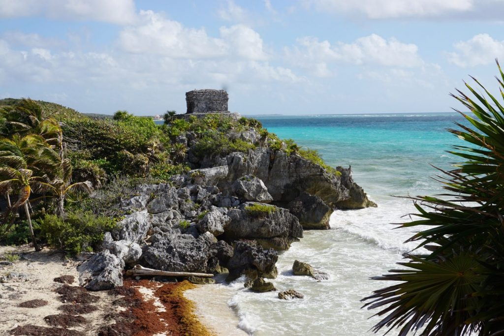 a Mayan port city