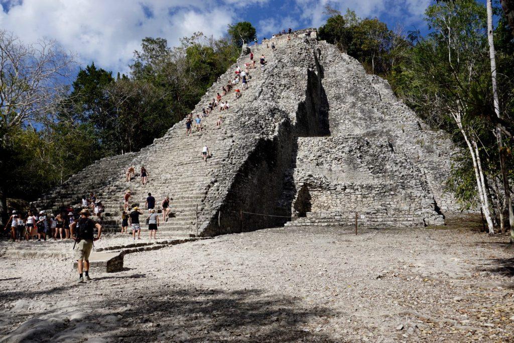 Coba's main pyramid