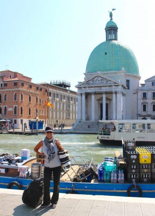 arriving Venice