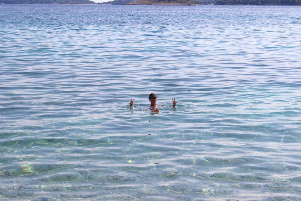 in the Adriatic