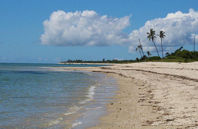 Guludo beach
