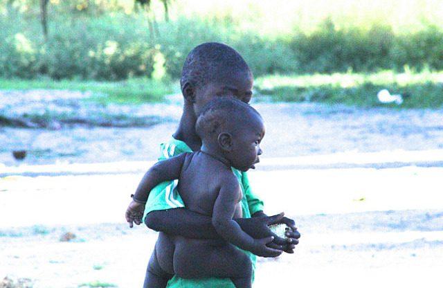 kids looking after kids