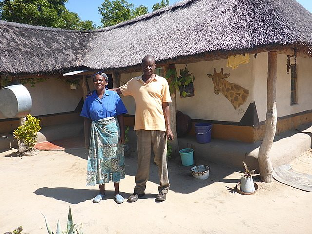 village headman and his wife