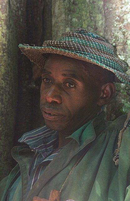 the pygmy head-man