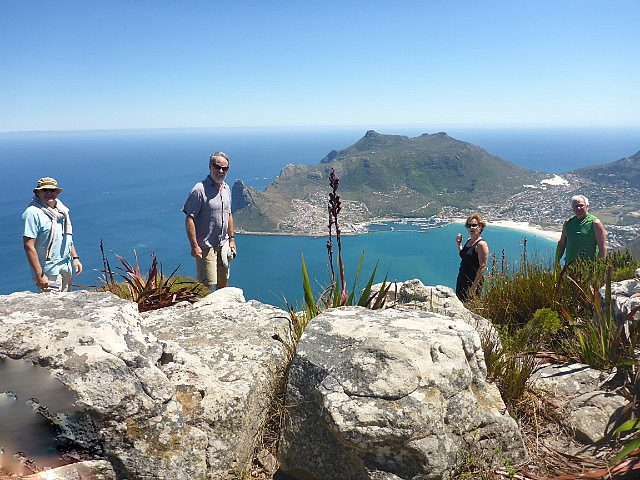 hiking the spine of the cape-peninsula