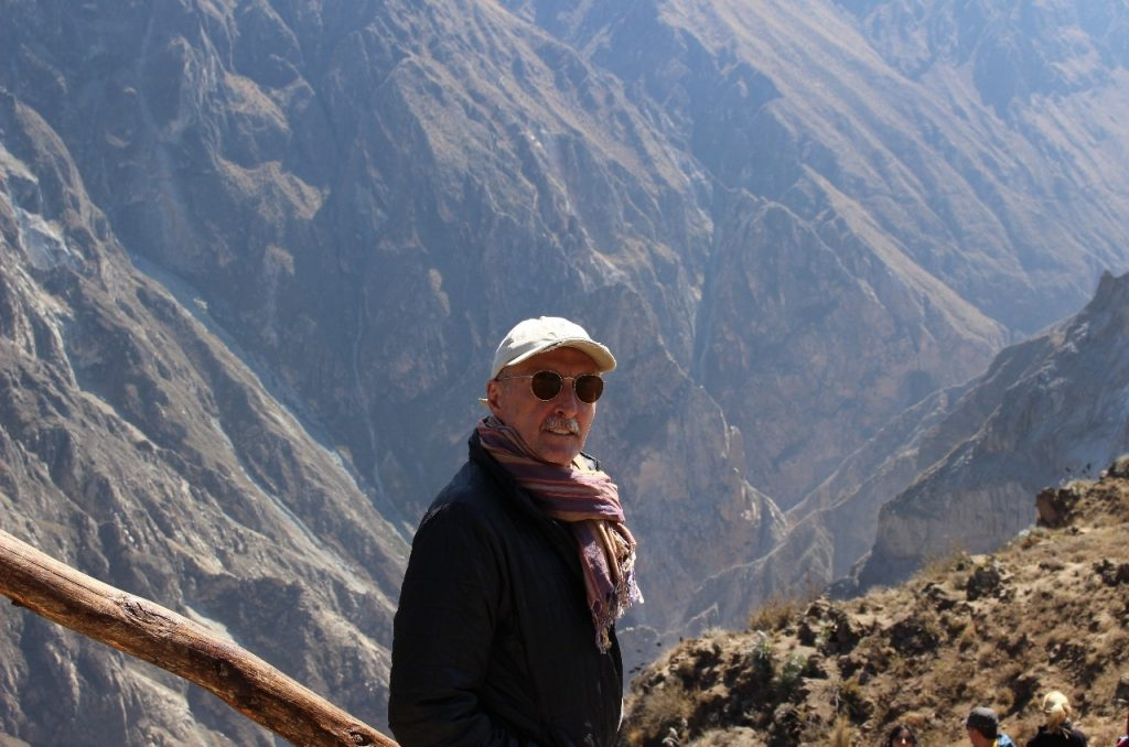 Craig at the Colca Canyon
