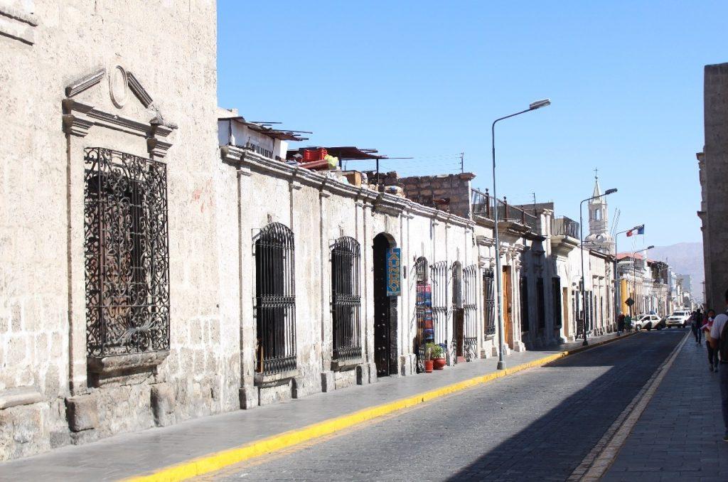 Arequipa street scene