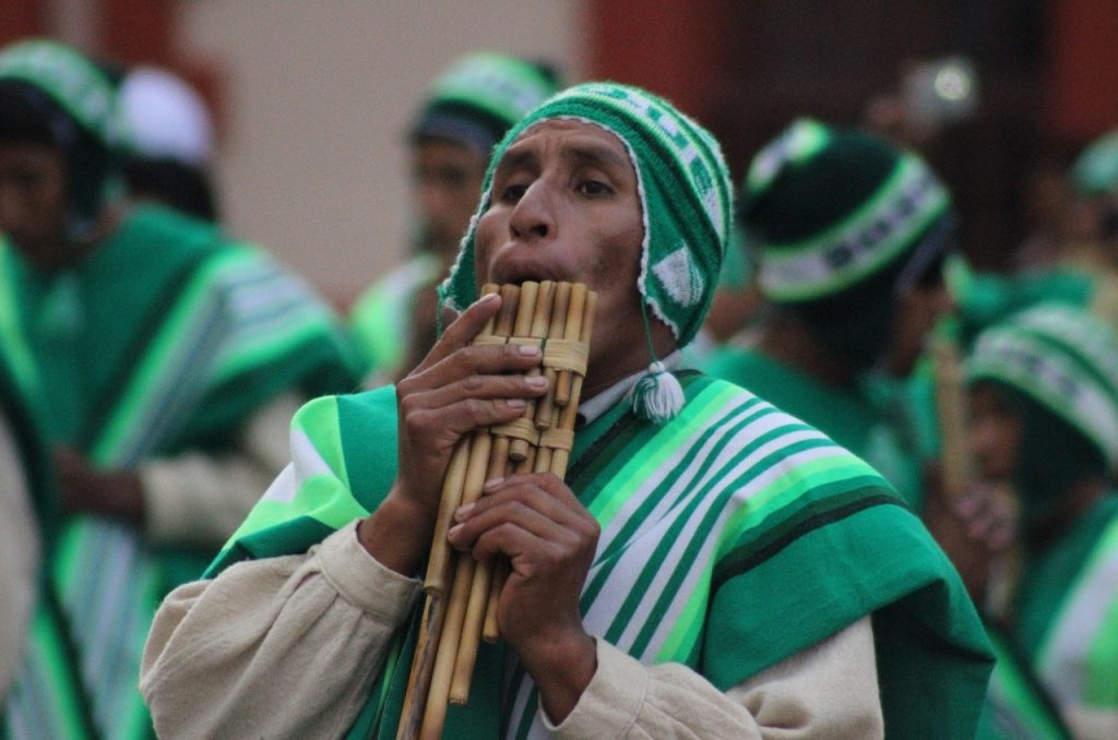 pan flute player