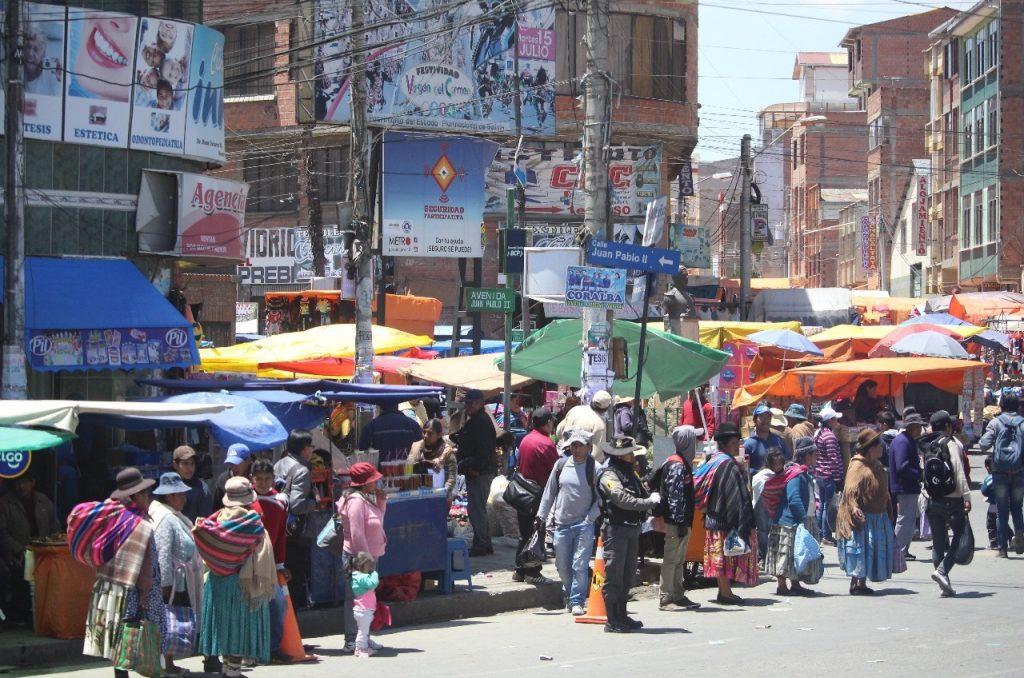 outskirts of La Paz