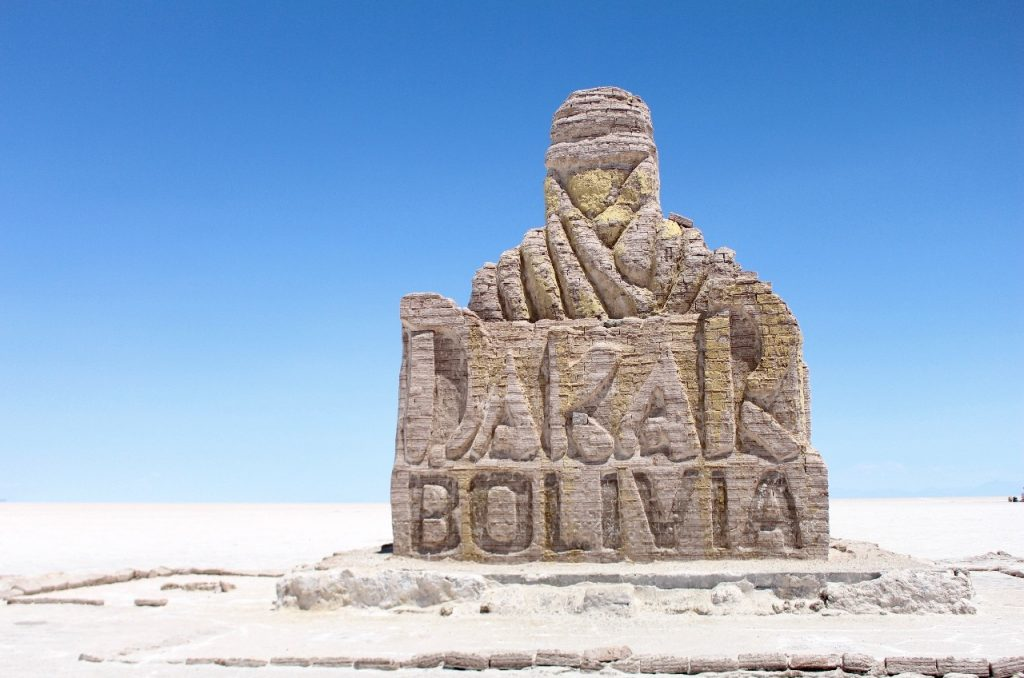 the Dakar comes to Bolivia